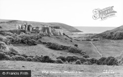 Manorbier, The Castle c.1955