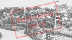 Manorbier, Village c.1955