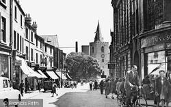 Mansfield, Church Street 1949