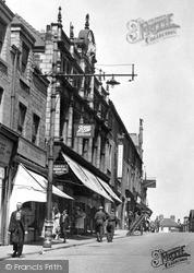 Mansfield, Leeming Street 1949