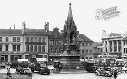 Mansfield, Market Place 1951