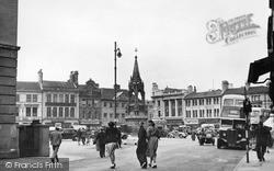 Mansfield, Market Place c.1950