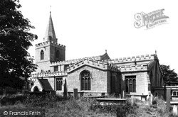 Mansfield, St Peter's Church 1949