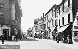 Mansfield, Stockwell Gate 1949