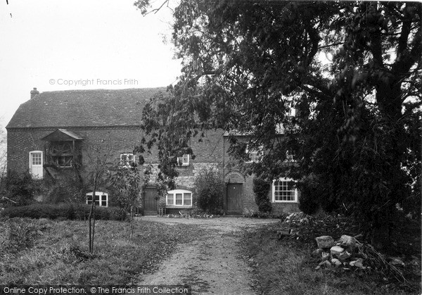 Manton,the Mill House c1955,Wiltshire
