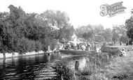 Mapledurham, Lock 1917