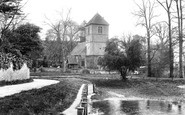 Mapledurham, Church 1910
