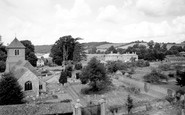 Mapledurham, St Margaret's Church c1955