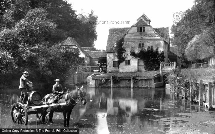 Mapledurham,the Mill 1890,Oxfordshire