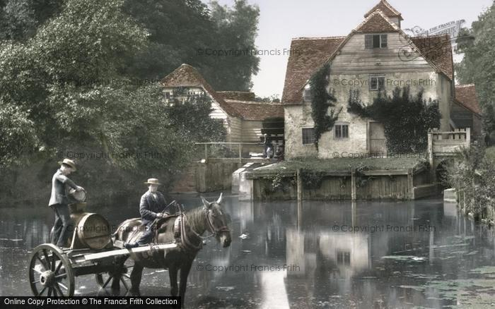 Photo of Mapledurham, The Mill 1890