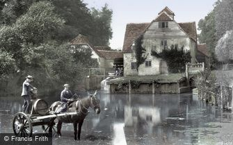Mapledurham, the Mill 1890