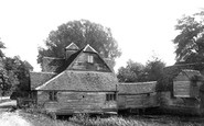 Mapledurham, the Mill and Church 1890
