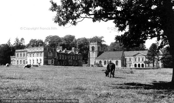 Photo of Mapleton, Okeover Hall c.1950