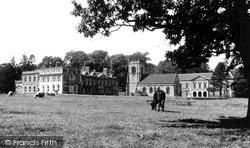Okeover Hall c.1950, Mapleton