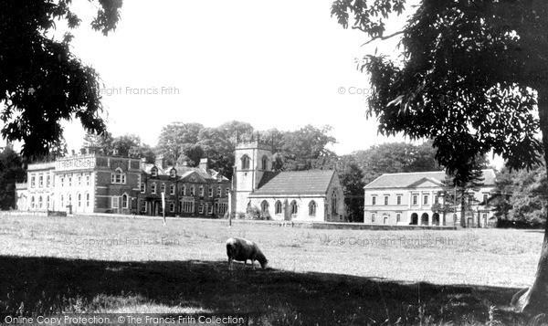 Photo of Mapleton, Okeover Hall c.1955