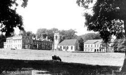 Okeover Hall c.1955, Mapleton
