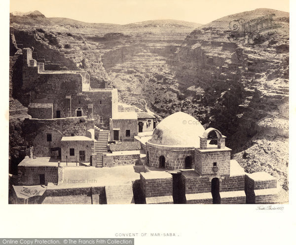 Photo of Mar Saba, Convent 1857