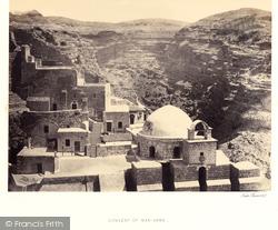 Mar Saba, Convent 1857