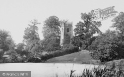 Marbury, Church From The Mere 1898