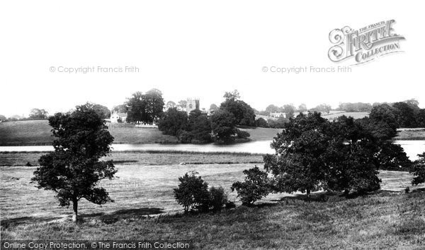 Photo of Marbury, St Michael's Church And Mere 1898