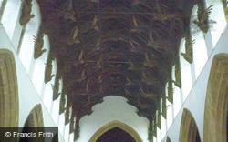 Church Of St Wendreda Interior 1979, March