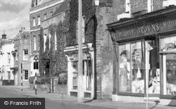 High Street Draper c.1960, March