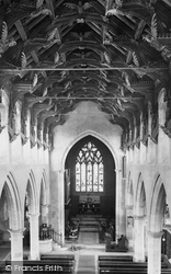 St Wendreda's Church Interior 1929, March