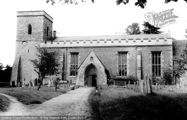 Photo of Marcham, All Saints Church c.1965