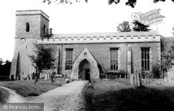 Marcham, All Saints Church c.1965