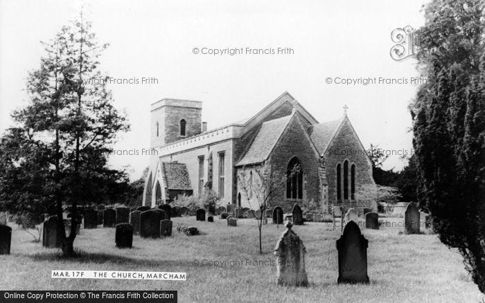 Photo of Marcham, All Saints Church c.1965