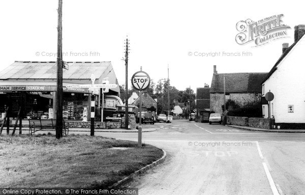 Marcham, North Street c1965