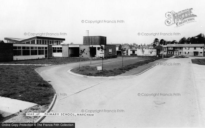 Photo of Marcham, Primary School c.1965