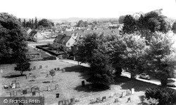 Marcham, View From Church Tower c.1965