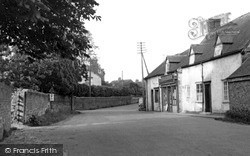 Marchington, High Street c.1955
