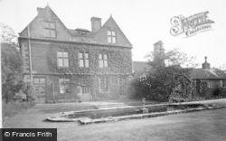 Marchington, Marchington Hall c.1955