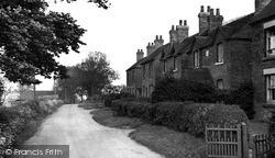Marchington, Moisty Lane c.1955
