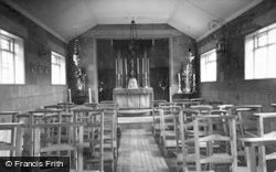 Marchington, St Thomas A Becket Catholic Church, Interior c.1955