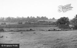 Marchington, The Village From Hound Hill c.1955