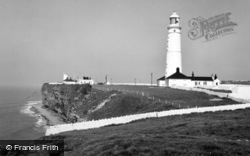 Marcross, Nash Point And Lighthouse c.1960