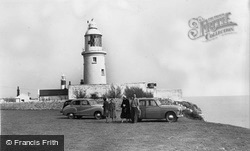Nash Point Lighthouse c.1960, Marcross