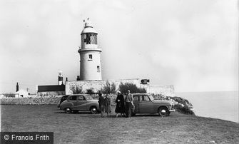 Marcross, Nash Point Lighthouse c1960