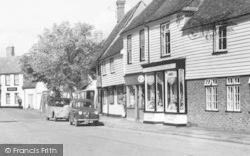 Marden, High Street Shops c.1960
