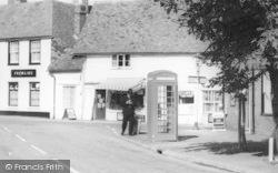 Marden, High Street Telephone Box c.1955
