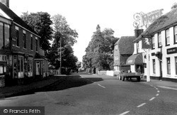 Marden, Post Office And The Unicorn c.1955
