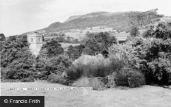 Mardy, Church And The Skirrid c.1965