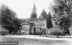 Maresfield, Park Entrance 1902