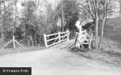 Maresfield, The Bridge c.1955