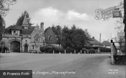 The Lodge c.1950, Maresfield