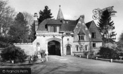 Maresfield, The Lodge c.1955