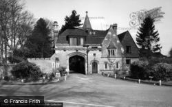 Maresfield, The Lodge c.1955